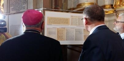 Wystawa ku czci biskupa Wyszyńskiego