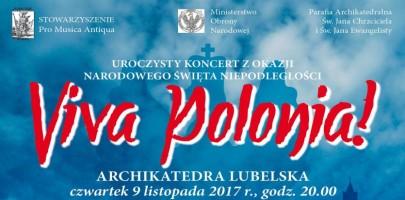 Viva Polonia – koncert z okazji Narodowego Święta Niepodległości