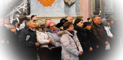 Zmiana ilości osób w kościele