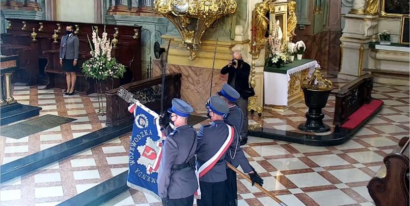 Wojewódzkie obchody Święta Policji w Lublinie