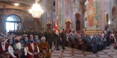 Msza św. w Uroczystość Wniebowzięcia NMP oraz w 100. rocznicę Bitwy Warszawskiej pod przewodnictwem ABP Stanisława Budzika